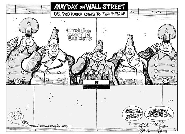 Communism on Wall Street.