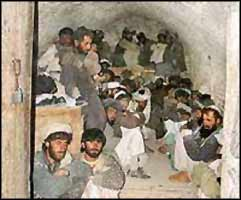 Since it is politically inexpedient for the USA to house it?s illegally held POWs in Guantanamo Bay, most are sent for interrogation in third-country prisons, like this one in Afghanistan.