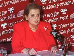 Friend of Zion Madeleine Albright