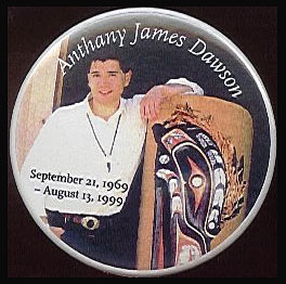 Anthany James Dawson, September 21st 1969 - August 13th 1999