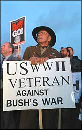 This veteran of previous ?wars to save humanity? has since seen plenty of governments that have claimed moral rectitude, but behaved inhumanely for personal gain.