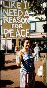 Peace is the natural state of affairs.