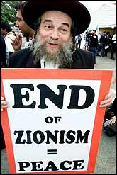 Isn?t it time that the world made a distinction between Jews and Zionists?