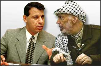 Under constant USA and Israeli pressure, Arafat?s position is weakening, but Dahlan?s dubious admirers rule him out as any replacement.