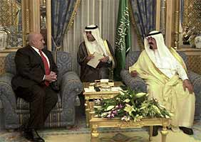 The Saudi royal family is widely regarded by Muslims inside and outside the country as a puppet of USA imperialism.