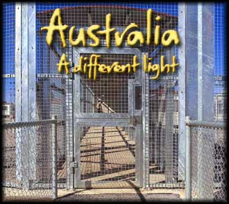 Welcome to Australia? <br /> The Australian tourist board doesn?t mention Baxter Detention Centre in its tourist promotion drive.