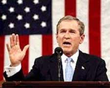 Hand on heart, George Bush lied to the people he represents, and sent hundreds of them to die for an unjust and illegal cause.