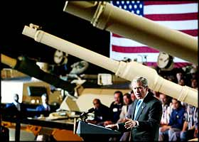 'In the battle of Iraq the United States and our allies have prevailed.? <br /> USA President George W Bush, May 2nd, 2003
