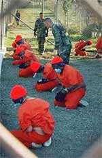 The human zoo at Guantanamo Bay is a symbol to the world of the moral illegitemacy of USA imperialism.