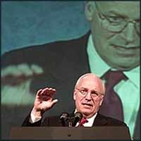 Vice President Dick Cheney is the present figurehead inside the broad alliance of neo-conservative capitalists that controls the USA.