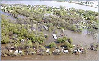 More than 70% of all the people in the world live in coastal plains, low-lying islands, or inland areas prone to flooding.