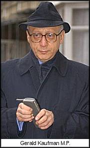 Gerald Kaufman MP