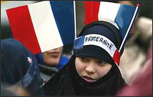Liberty, Equality, Fraternity, in modern 'secular' France, means no room for Muslims who choose to dress modestly.