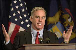The difference between Howard Dean, and what's needed for a change of course in the USA is wider than Howard is letting on.