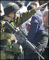 The indignity of having their movements vetoed by trigger-happy soldiers is a daily occurrence for millions of Palestinians in the occupied territories.