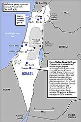 Click here to see a map of Israel's nuclear weapons facilities.