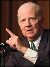 The veteran ?big-wheeler? on the USA right-wing, James Baker has been appointed as George W Bush?s ?personal envoy to Iraq?.