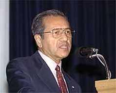 Amongst leaders of Muslim countries, Mahathir Muhamad has been the most outspoken against the USA's war on 'terror'.