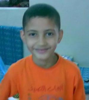 Mamoun Aldam, twelve years old, murdered by the state of Israel