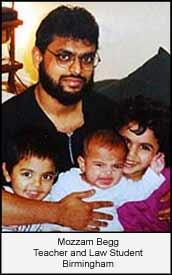 Moazzam Begg, 36, from Birmingham