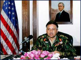 For Pervez Musharraf, Pakistan's dictator, reborn as 'President', life has been never easier, since the Washington franchise took over.