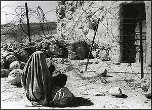 Having terrorised the inhabitants out of their homes, Zionist forces simply destroyed thousands of them, to discourage owners from returning.