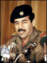 Let us not forget that Saddam Hussein?s brutal rule was helped along for twelve years with intelligence, weapons, financial aid, and materials for making WMDs.