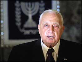 Relying on a vision of Judaism, distorted to his suiting, Ariel Sharon still regards the murder of Jews as a political weapon, and the murder of Arabs as a political necessity.