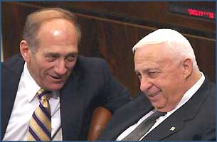 Sharon and Olmert could share their private joke at the time, but as great statesmen, they could not tell the world the truth about their Great Plan.