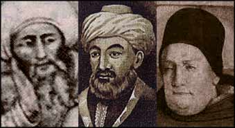 Cometh the moment? Three of history's most distinguished religious scholars emerged in reaction to the religious intolerance of the crusades.