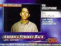 Ever since 9/11 TV news in the USA has almost universally wrapped its pro-war messages in the Stars and Stripes.