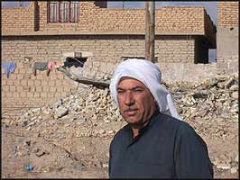 'Just following orders' ? the excuse of war criminals down the centuries, has left the home of Abu Mohammad's brother in ruins.