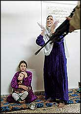 ?Liberated? Iraqi families can expect to be seeing much more of this in their homes, as USA occupation descends into military fascism.