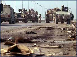 When the occupying troops finally leave Iraq, they will leave behind them the devastation they caused.