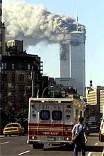 Unfounded theories, stated as fact, about the felling of the World Trade Centre were continually mooted by USA media in the months after the event.